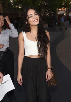 Vanessa Hudgens. Loved this chica since HSM days. Such a gorgeous and bubbly personality to her. xx