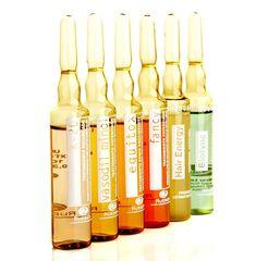 Gama de Fiole Rueber pentru afectiunile capilare, cadere, regenerare, matreata, scalp gras, dermatita,