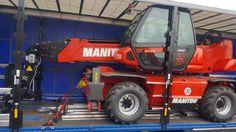 Anlieferung eines neuen Manitou MRT 2145 Easy