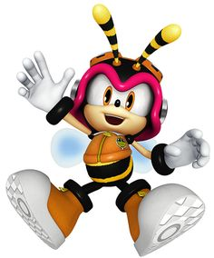 Charmy Bee - Sonic The Hedgehog, assist trophy