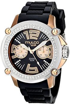 MULCO Women's MW2-28086S-025 Analog Display Swiss Quartz Black Watch $ 122.42 Women Watches Product Features Swiss Quartz movement Case diameter: 38 mm Chronograph watch,Metal case Mineral crystal glass Water resistant to 330 feet (100 M): suitable for snorkeling, as well as swimming, but not diving Women Watches Product Description MWATCH Collection Stainless Steel Bezel with 4 PCS of Screws and Swarovski Crystals Stainless Steel […] http://www.bestwomenwatches...