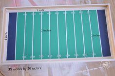football-game measurements