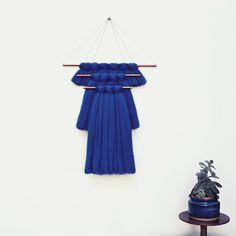 Image de Elkeland wallhanging, 45 cm bleu