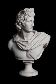 Apollo Bust Sculpture (Large) What is Art ? To answer the question of what's art Ancient Greek Sculpture, Greek Statues, Victory Tattoo, Modern Sculpture, Roman Sculpture, Metal Sculptures, Bronze Sculpture, Wood Sculpture, Sculpture Painting