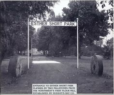 Vancouver Washington, Washington State, Esther Short Park, Clark County, Jackson Family, Hudson Bay, Old Images, Historical Photos, North West