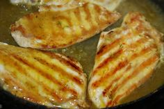 Pollo a la Crema de Curry, Mostaza y Miel