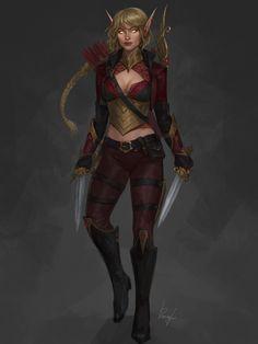 ArtStation - 9, Julia Pimenova Character Concept, Character Art, Character Design, Character Reference, World Of Warcraft Characters, Fantasy Characters, Pathfinder Character, High Elf, Forgotten Realms