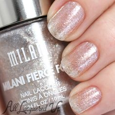 Milani Fierce Foil Nail Lacquer Swatches and Review: Sardinia.