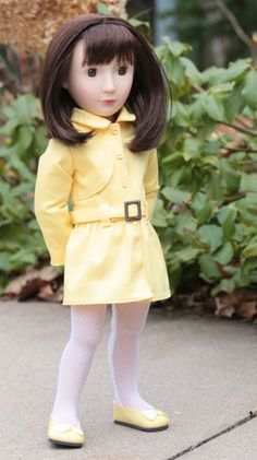 A Girl For All Time®  Stormy Weather Trench Coat PDF Pattern