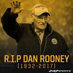 RIP MR. ROONEY 1932-2017