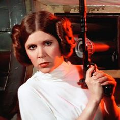 Carrie Fisher to Return as Princess Leia in Star Wars: Episode VII. Carrie Fisher says she will play Princess Leia in Star Wars: Episode VII. Carrie Fisher, Todd Fisher, Eddie Fisher, Humour Disney, Funny Disney Memes, Mark Hamill, Leila Star Wars, Disney Love, Run Disney