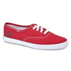 Keds Taylor Swift's RED Champion #VonMaur #KEDS #Shoes #TaylorSwift