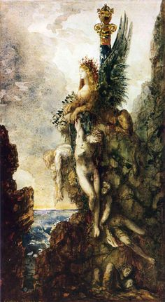 The Victorious Sphinx - Gustave Moreau