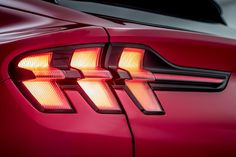 Ford Mustang Mach-E electric SUV - pictures New Ford Mustang, E Electric, Bmw Z3, Car Design Sketch, Car Headlights, Bicycle Lights, Conceptual Design, Car Lights, Automotive Design