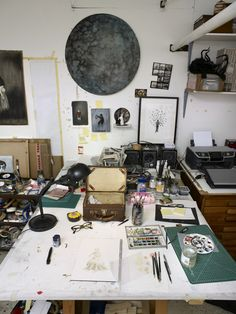 Manchester artist Rachel Goodyear takes us on a tour of her studio at Islington…