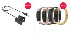 Shop Fitbit Charge 2 Accessories - Bands & Replacement Charger Cables - Mobile Mob