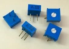 100% Original 3386P 1K 2K 5K 10K 20K 50K 100K 200K 500K 1M 100R 200R 500R Trimming Potentiometer x 100PCS. Yesterday's price: US $38.34 (31.24 EUR). Today's price: US $36.42 (29.85 EUR). Discount: 5%.