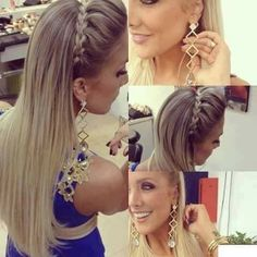 Prom hairstyle easy and simple!