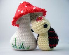 Aww, I want my mom to crochet this for me. So sweet. - GS