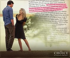 The Choice Quotes Prepossessing The Choice  Nicholas Sparks Love Quotes Romantic Movie Truth