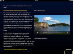 Book featuring travel guide video: A Weekend at the Opera in Savonlinna Finland
