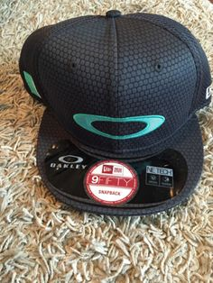 NWT-new-OAKLEY-New-Era-9Fifty-snapback-baseball-hat-cap-gray 79f71878038b