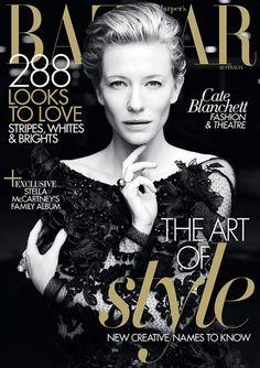 Cate Blanchett for Harper's Bazaar Australia May 2011 (Cover)