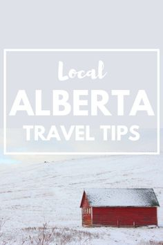 Love exploring the outdoors? Dreaming of a trip to snowy Alberta, Canada? We asked a local to share his top Alberta travel tips and here's what he had to say... (click through to read)