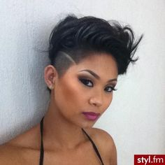 Super cute short hair style