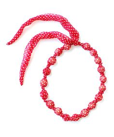 Look what I found on #zulily! Cherry Tiny Dot Beaded Necklace by Sophie Catalou #zulilyfinds