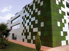 Modern Gardening: vertical gardening tiles