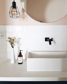 How To Plan Bathroom Remodeling On Limited Budget – Home Dcorz Black Bathroom Sets, Modern Master Bathroom, Small Bathroom, Neutral Bathroom, Bad Inspiration, Bathroom Inspiration, Industrial Bathroom, Bathroom Cleaning, Industrial Scandinavian