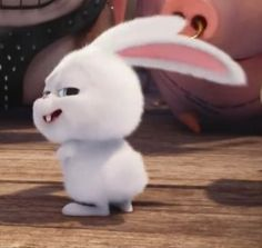 Shake shake shake shake shake shake Shake that weekend bunny booty, that bunny boo-tay! Snowball Rabbit, Cute Images For Dp, Cute Bunny Cartoon, Pets Movie, Cute Baby Bunnies, Secret Life Of Pets, Cute Doodles, Cute Cartoon Wallpapers, Cute Characters