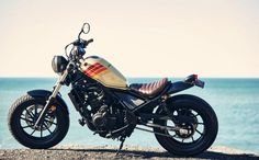 Honda Rebel + Aviator Nation: california retro
