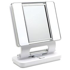 Ottlite Natural Daylight Makeup Mirror WhiteChrome 26 Watt -- For more information, visit image link. (It is an affiliate link and I receive commission through sales)