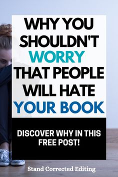 Are you thinking about giving up on your manuscript due to the fear that people will hate it when it's published? Stop, take a breath, and read this post! This short article will show you why you shouldn't worry that people will hate your book & give you a burst of writing motivation to encourage you to keep writing! #writingmotivationencouragement #writingfatigue #writingencouragement #keepwritingquotesmotivation Fiction Writing, Writing Advice, Writing A Book, Authors, Writers, Plotting A Novel, Writing Motivation, Writer Tips, Short Article