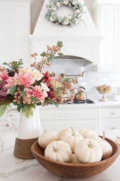 Fall Home Tour with Touches of Mauve and Copper - Styled With Lace