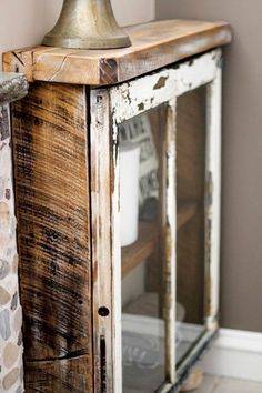 Make a Cabinet Out of an Old Window