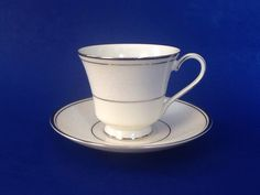 A personal favorite from my Etsy shop https://www.etsy.com/ca/listing/612946527/minton-bridal-veil-teacup-and-saucer