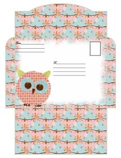 . Envelope Template Printable, Stationary Printable, Printable Box, Printables, How To Make An Envelope, All Paper, Note Paper, Printable Pictures, Cards