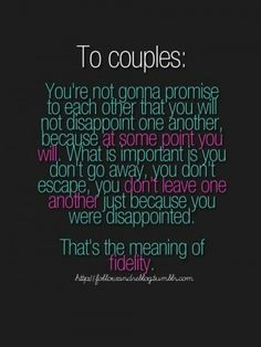 To couples   #love #marriage #fidelity