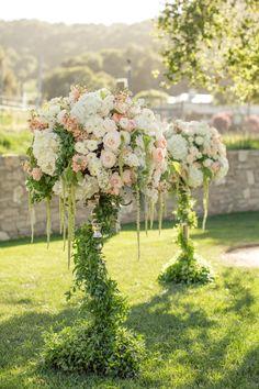 Peachy California Wedding at Carmel Valley Ranch - MODwedding