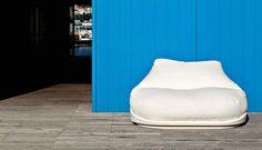 Sofa HUG SERRALUNGA weiß/weiß kaufen im borono Online Shop
