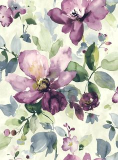 #wallpaper #painted #watercolours