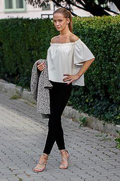 Bell Sleeves, Bell Sleeve Top, One Shoulder, Diamonds, Blouse, Tops, Women, Fashion, Moda