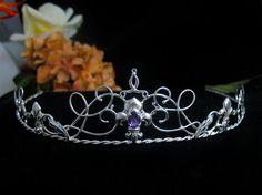 Fleur De Lis Circlet Fleur de Lis Hochzeit Tiara von Camias auf Etsy
