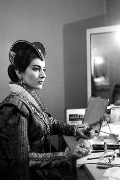 """The public can be so cruel. They… neither forgive nor forget your failures."" -Maria Callas"