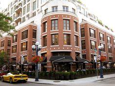 The Hazelton Hotel, Yorkville, Toronto.  Toronto's only 5 star hotel.