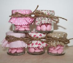 Pink Favours for Weddings Bridal Showers Baby by Melysweddings, £1.85
