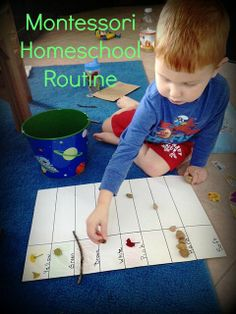 Montessori on a Budget blog: Montessori Homeschool Routine